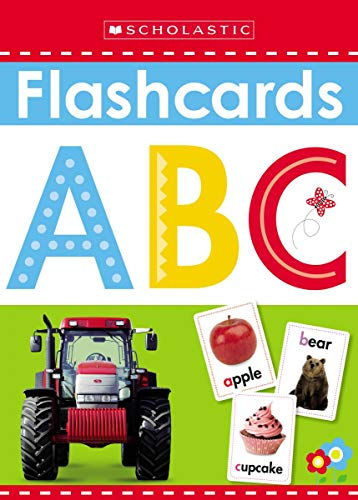 9780545903332: Write and Wipe Flashcards: ABC (Scholastic Early Learners)