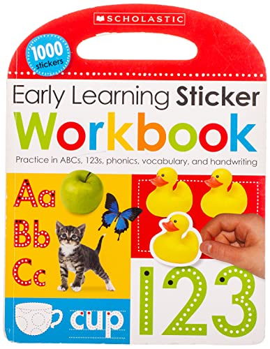 9780545903356: Early Learning Sticker Workbook (Scholastic Early Learners)