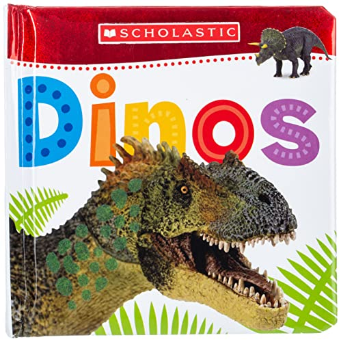 9780545903370: Touch and Feel Dinos (Scholastic Early Learners)