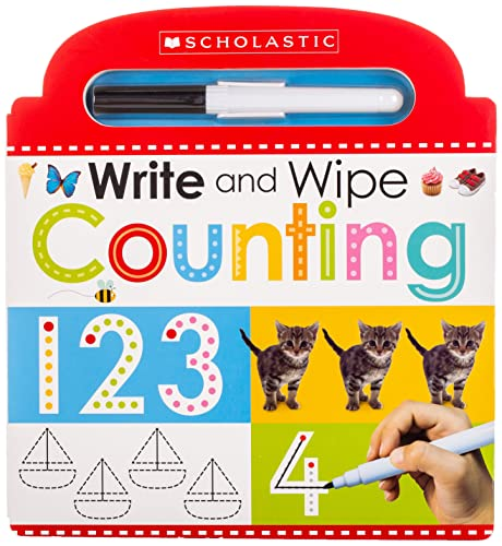 9780545903394: Write and Wipe Counting (Scholastic Early Learners)