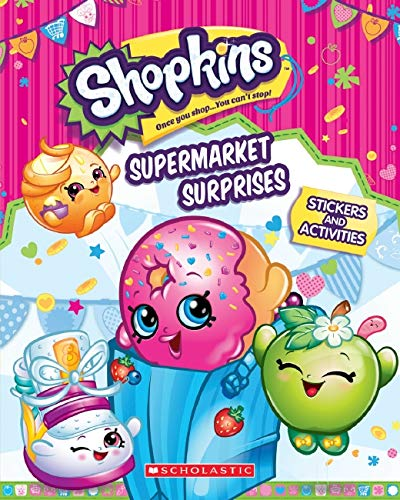 9780545905008: Supermarket Surprises: Sticker Activity Book (Shopkins)