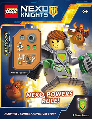 NEXO Powers Rule! (LEGO NEXO Knights: Activity Book with minifigure): Ameet Studio