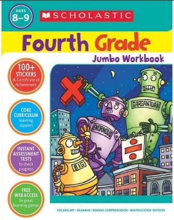 Scholastic Fourth Grade Jumbo Workbook: Scholastic