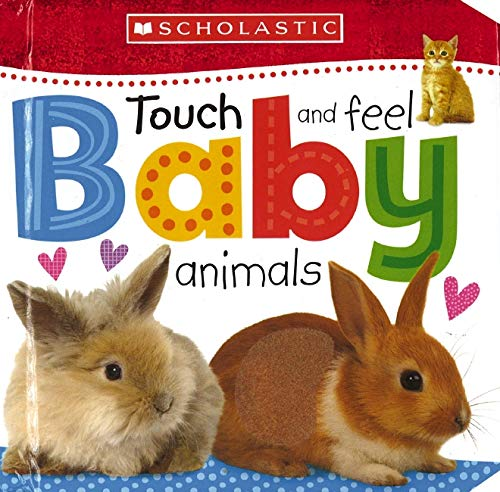 9780545915151: Touch and Feel Baby Animals (Scholastic Early Learners)