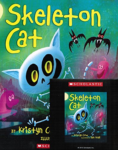 9780545924467: Skeleton Cat with Read Along Cd