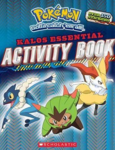 Pokemon: Kalos Essential Activity Book (Pokemon) 9780545927499 Games, puzzles, activities, stats, facts, and much more! It's the ultimate activity book for Pokemon fans.