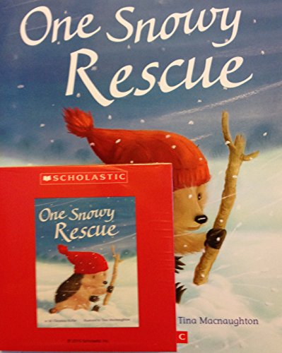 9780545929103: One Snowy Rescue Paperback and Audio CDM. Chrsi