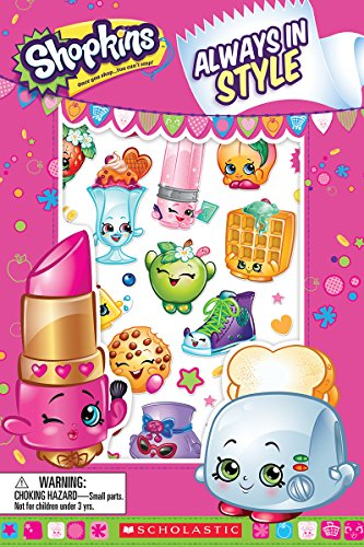 9780545940597: Always in Style (Shopkins: Reader with Puffy Stickers)