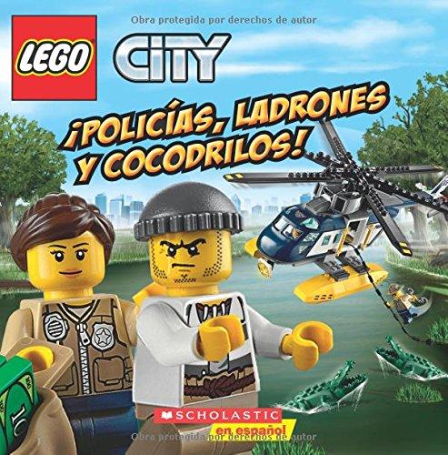 9780545941020: Policias, Ladrones y Cocodrilos! (Lego City) (Spanish Edition)
