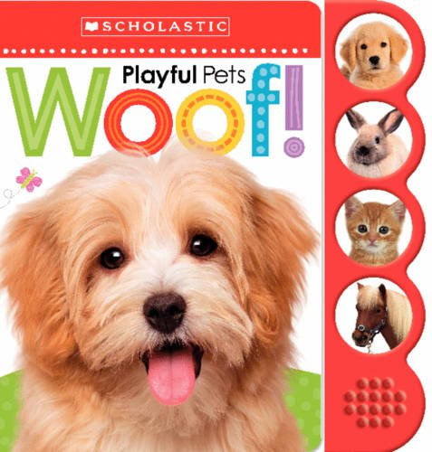 9780545948487: Playful Pets WOOF! (Scholastic Early Learners)