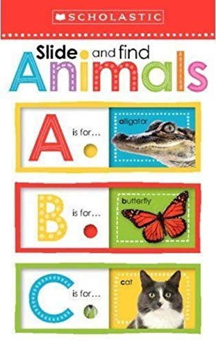 9780545948500: Slide and Find Animals ABC (Scholastic Early Learners)
