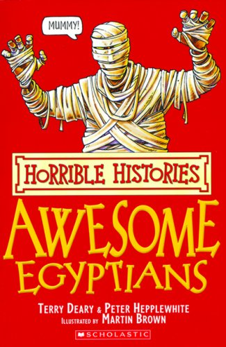 9780545997850: Horrible Histories: Awesome Egyptians