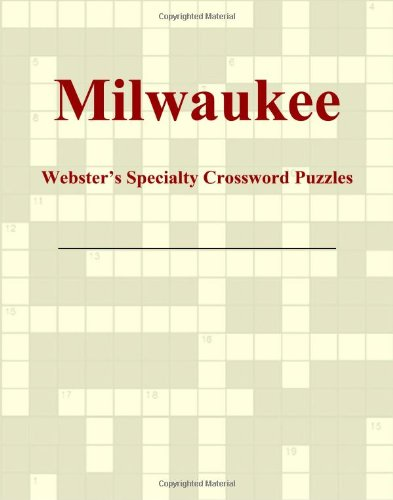 9780546428926: Milwaukee - Webster's Specialty Crossword Puzzles
