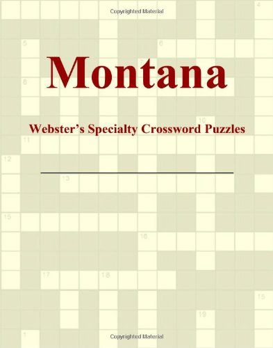 9780546429053: Montana - Webster's Specialty Crossword Puzzles