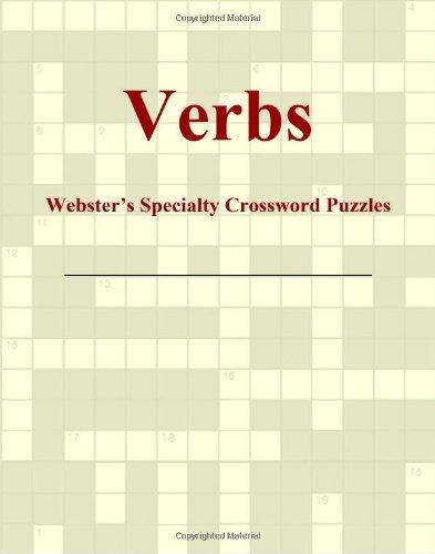 9780546433357: Verbs - Webster's Specialty Crossword Puzzles