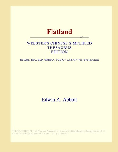 9780546537482: Flatland (Webster's Chinese Simplified Thesaurus Edition)