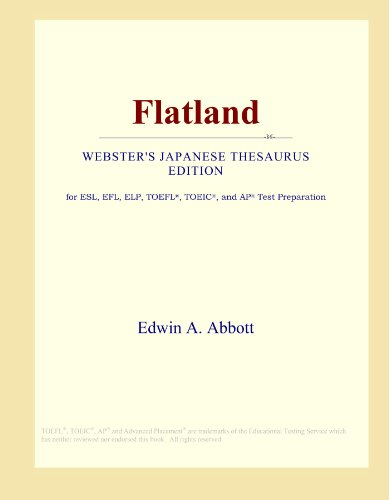 9780546542332: Flatland (Webster's Japanese Thesaurus Edition)