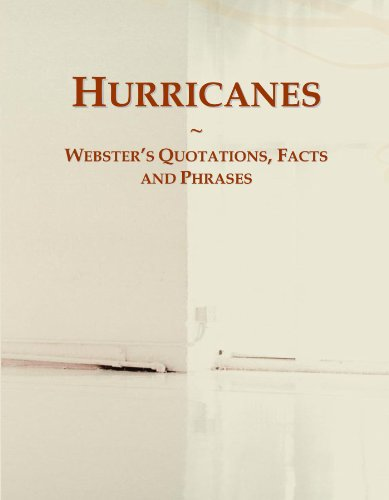 9780546548860: Hurricanes: Webster's Quotations, Facts and Phrases