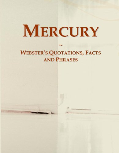9780546557251: Mercury: Webster's Quotations, Facts and Phrases