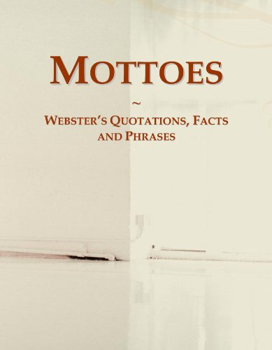 9780546558227: Mottoes: Webster's Quotations, Facts and Phrases