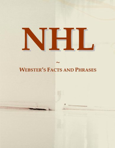 9780546559231: NHL: Webster's Facts and Phrases