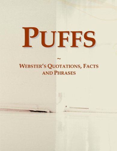 9780546566826: Puffs: Webster's Quotations, Facts and Phrases