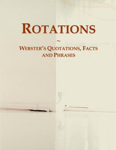 9780546567397: Rotations: Webster's Quotations, Facts and Phrases
