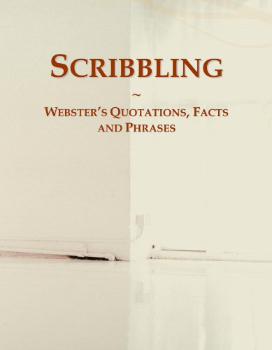 9780546567557: Scribbling: Webster's Quotations, Facts and Phrases