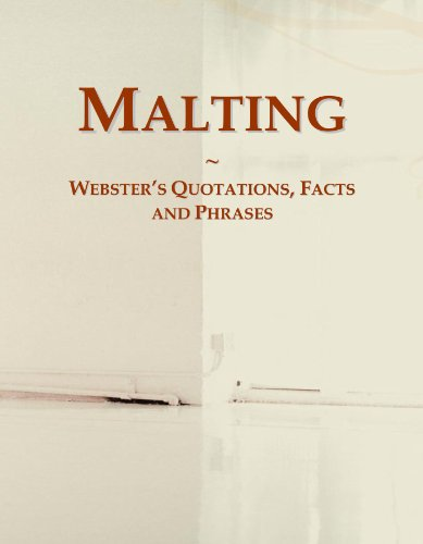9780546574678: Malting: Webster's Quotations, Facts and Phrases