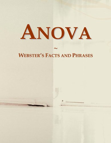 9780546575170: Anova: Webster's Facts and Phrases