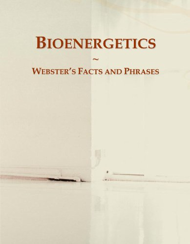 9780546582802: Bioenergetics: Webster's Facts and Phrases