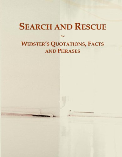 9780546596748: Search and Rescue: Webster's Quotations, Facts and Phrases