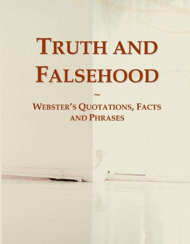 9780546600124: Truth and Falsehood: Webster's Quotations, Facts and Phrases