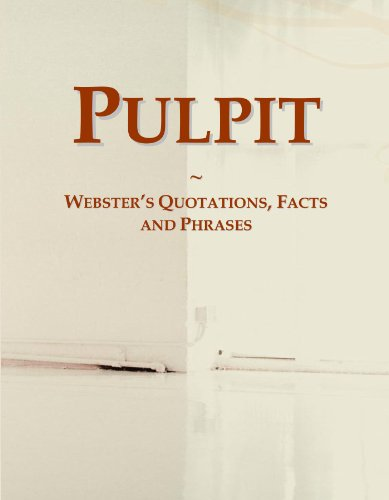 9780546603149: Pulpit: Webster's Quotations, Facts and Phrases