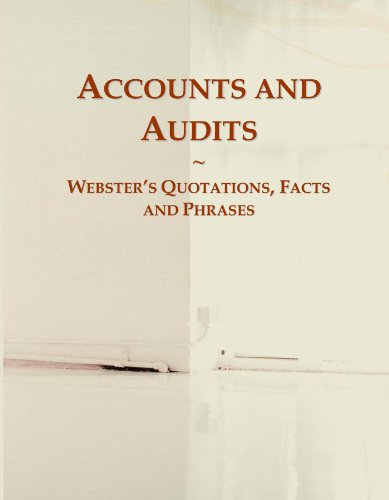 9780546607154: Accounts and Audits: Webster's Quotations, Facts and Phrases