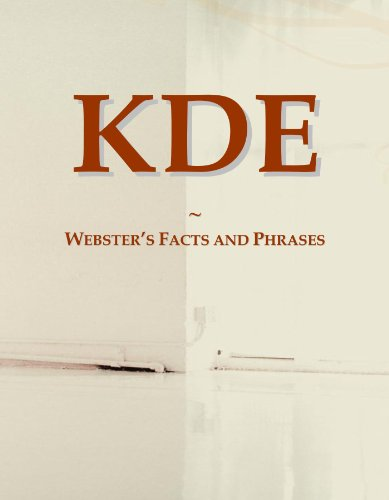9780546614251: KDE: Webster's Facts and Phrases