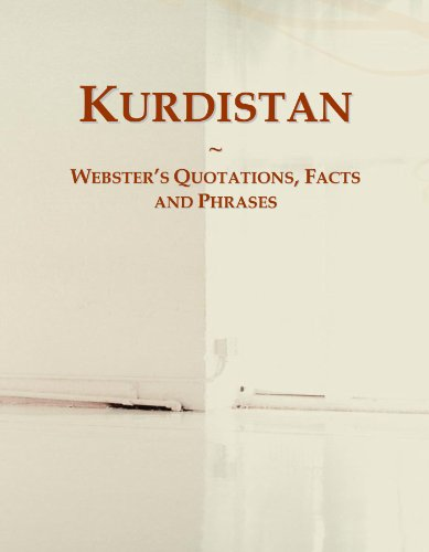 9780546618501: Kurdistan: Webster's Quotations, Facts and Phrases