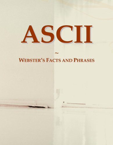9780546639421: ASCII: Webster's Facts and Phrases