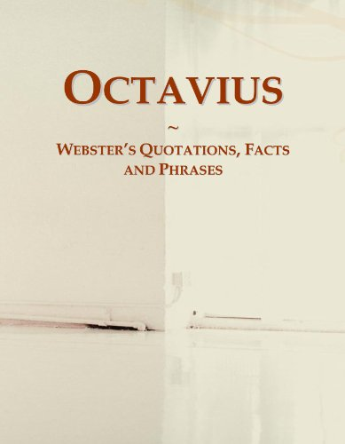9780546646108: Octavius: Webster's Quotations, Facts and Phrases