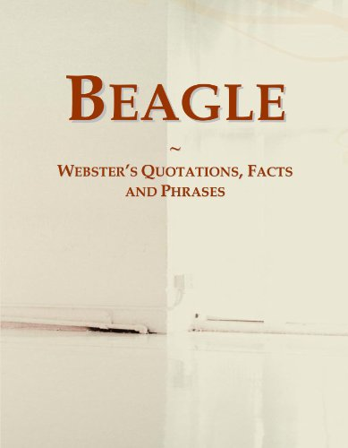 9780546659252: Beagle: Webster's Quotations, Facts and Phrases