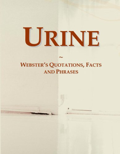 9780546664270: Urine: Webster's Quotations, Facts and Phrases