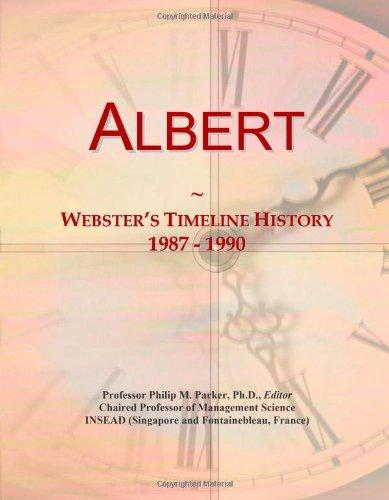 9780546668674: Albert: Webster's Timeline History, 1987 - 1990