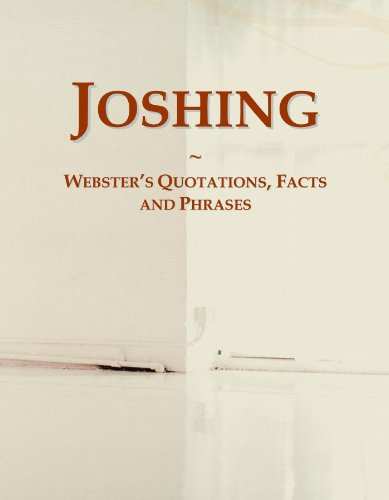 9780546711752: Joshing: Webster's Quotations, Facts and Phrases