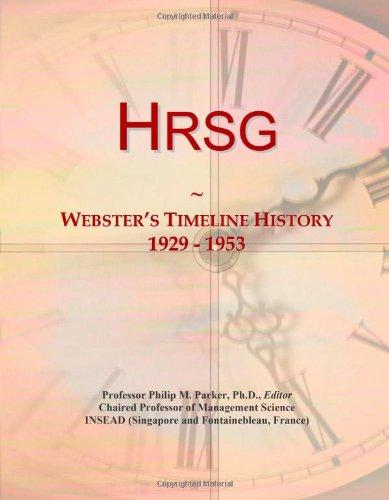 9780546719307: Hrsg: Webster's Timeline History, 1929 - 1953
