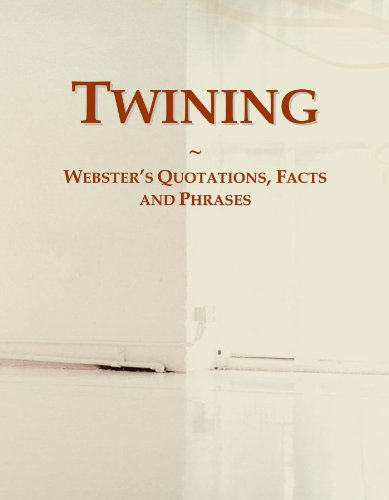 9780546732603: Twining: Webster's Quotations, Facts and Phrases