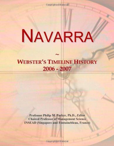9780546745146: Navarra: Webster's Timeline History, 2006 - 2007