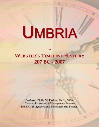 9780546757613: Umbria: Webster's Timeline History, 207 BC - 2007