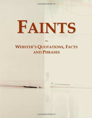 9780546765571: Faints: Webster's Quotations, Facts and Phrases