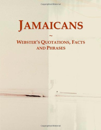 9780546793031: Jamaicans: Webster's Quotations, Facts and Phrases