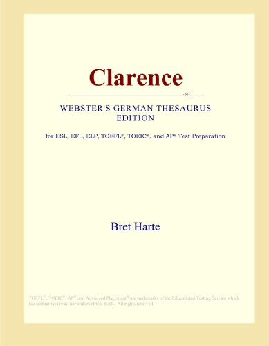 9780546801736: Clarence (Webster's German Thesaurus Edition)